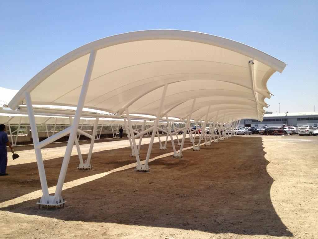 Design of car parking - Commercial Shades